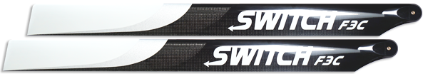 713mm F3C Premium Carbon Fiber Blades